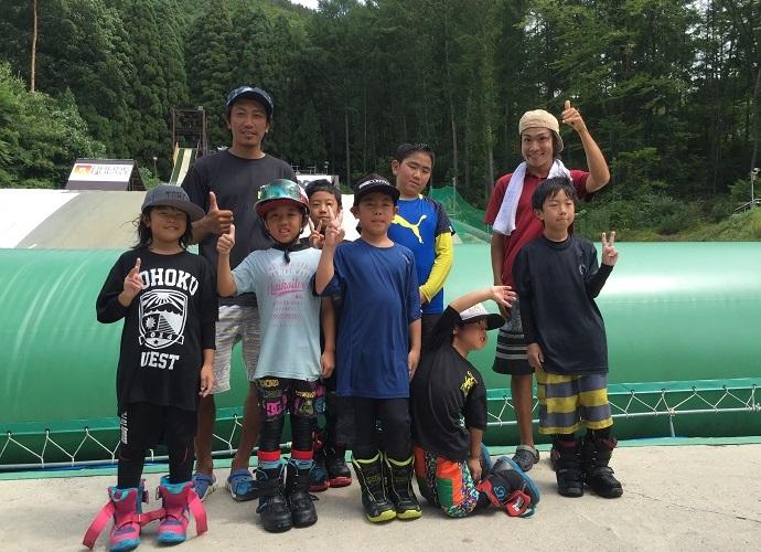 夏休みキッズスノーボードスクール@小布施クエスト 7月15日(土)より、お申込みスタート!