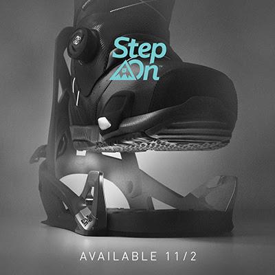 Burton Step On™バインディング&ブーツ発売のお知らせ