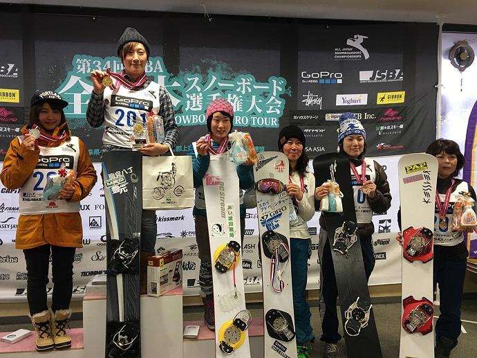 第34回JSBA全日本スノーボード選...