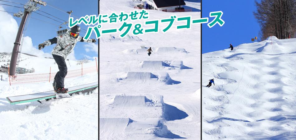 モーグルコース設置!!1月より(予定)|白樺湖ロイヤルヒル