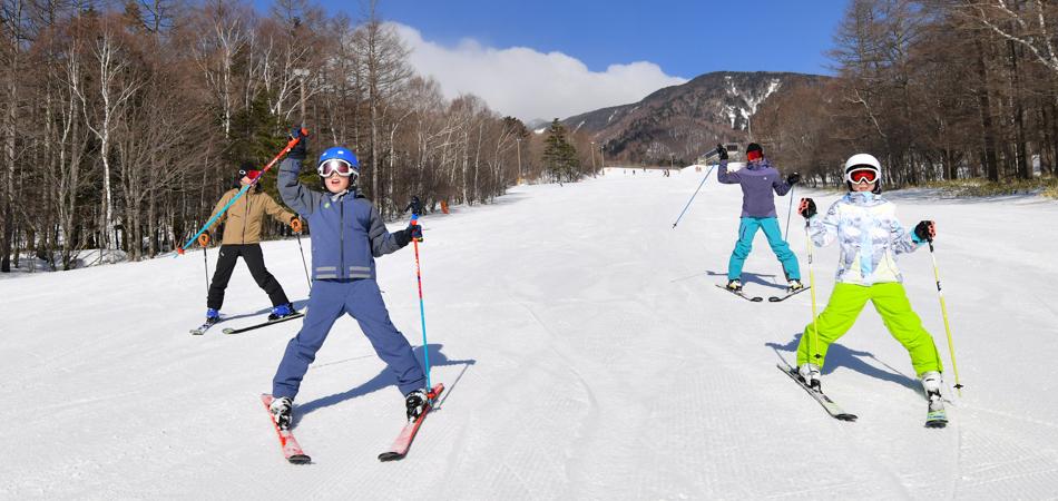標高1900mからの爽快感を何度でも。|サンメドウズ清里スキー場