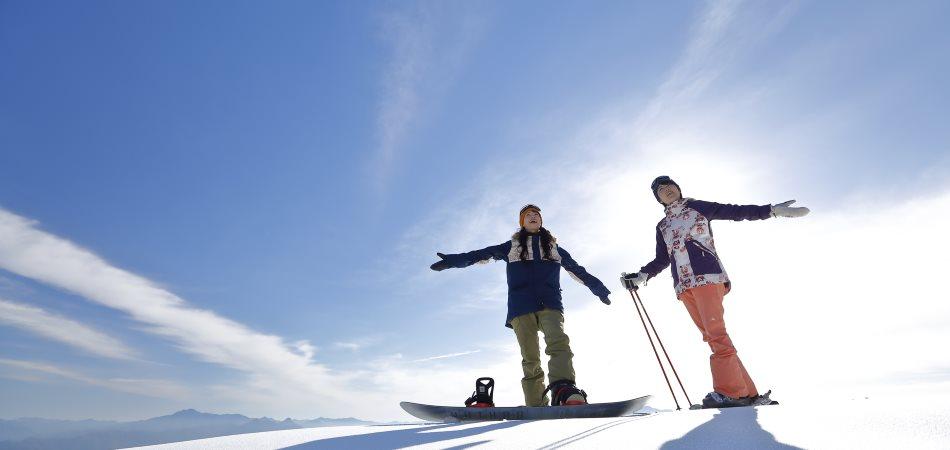 スキーもスノーボードもデビューするならサンメドウズ清里!!|サンメドウズ清里スキー場
