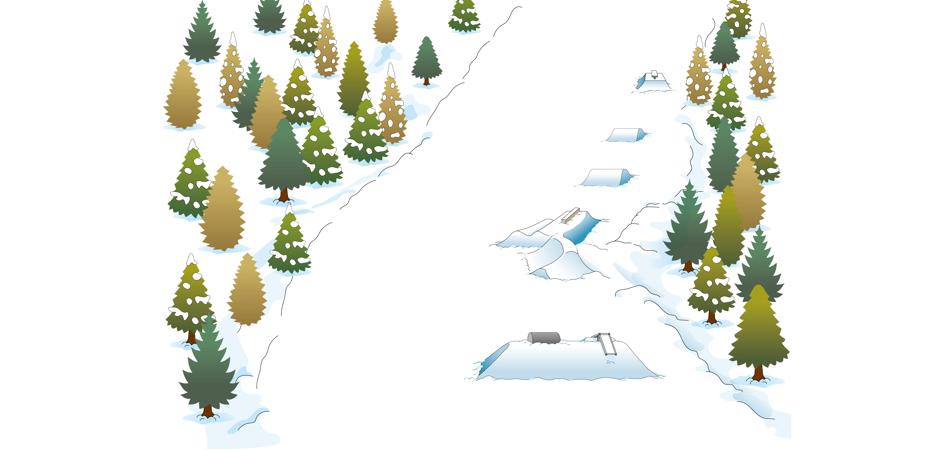 ビギナー向けスノーパーク「アップライドエリア」|サンメドウズ清里スキー場
