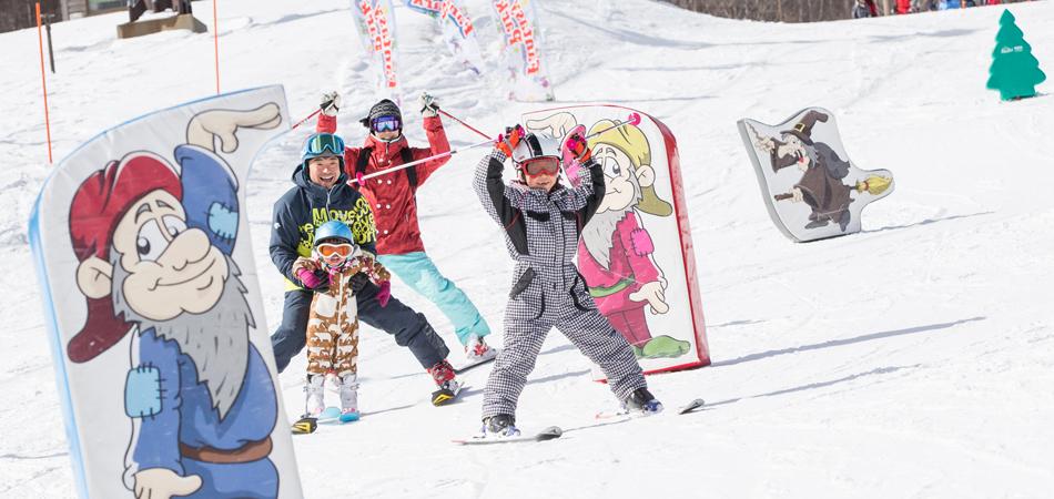 スノーアイテムがいっぱい「ファンタジーパーク」|サンメドウズ清里スキー場