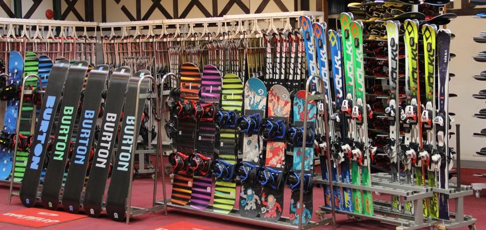 小さいお子様サイズからご用意しております。|サンメドウズ清里スキー場