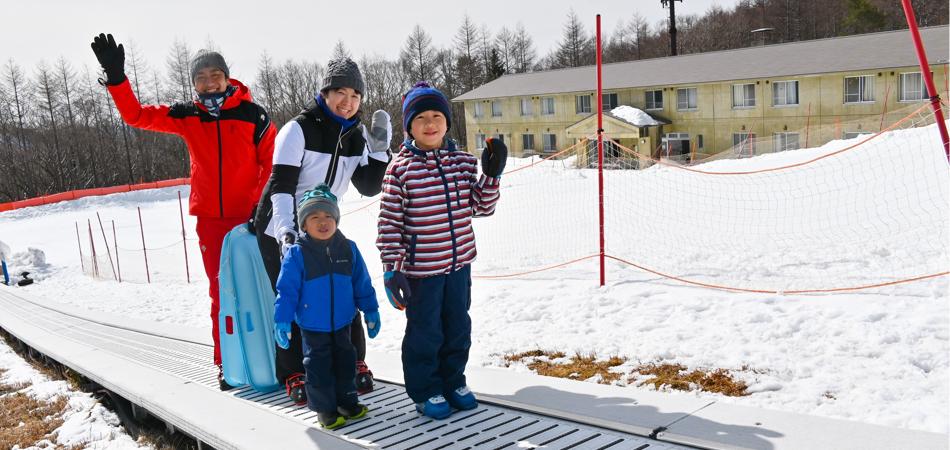 大人も楽しめる!アトラクションが充実スノーランド!|サンメドウズ清里スキー場