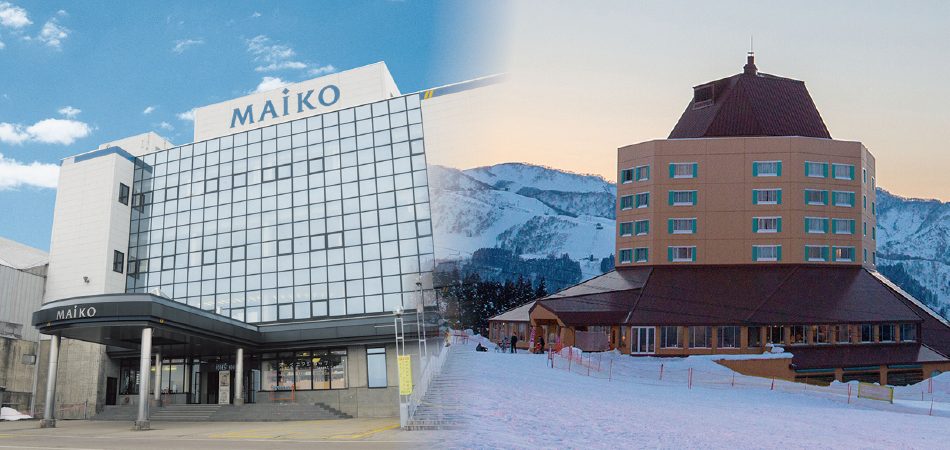 ゲレンデ直結!アフタースキーは温泉と豪華バイキングで快適リゾートステイ!|舞子スノーリゾート