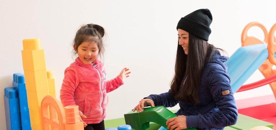 子供に、ママに、うれしいサービスが揃う|グランデコスノーリゾート