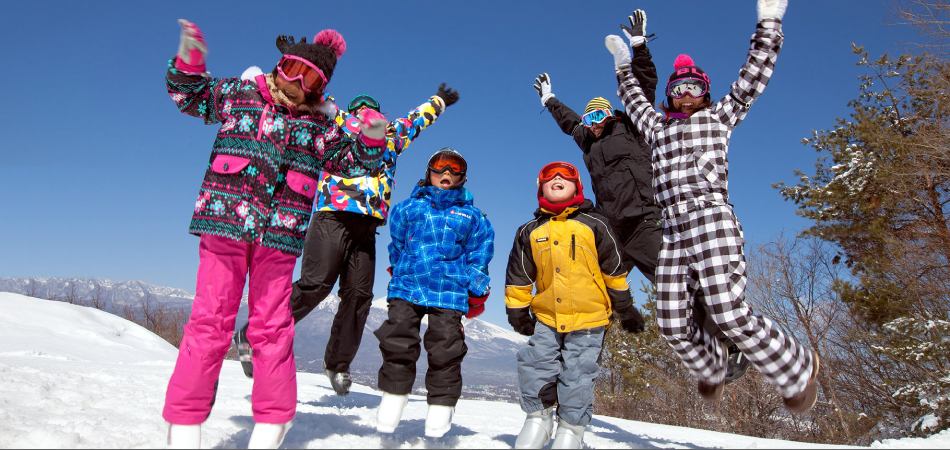 晴れ!晴れ!晴れ!親子でパラダを遊びつくせ!! 佐久スキーガーデン「パラダ」