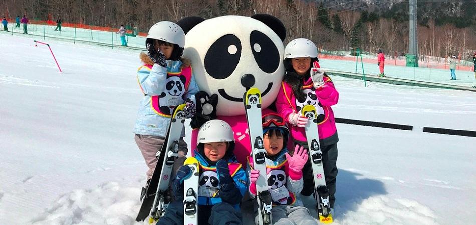 パンダルマンキッズスクール/対象年齢3才~9才|富良野スキー場
