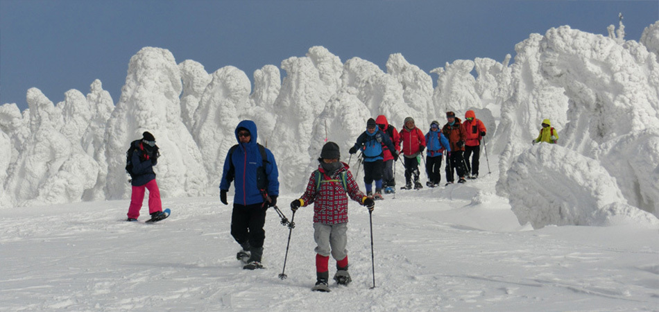 安比自然ツアーズ!スノーシューで白銀の世界へ!|安比高原スキー場