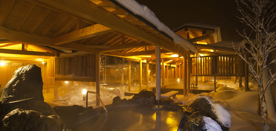 スキー・スノボのあとは、まったり温泉で!|安比高原スキー場
