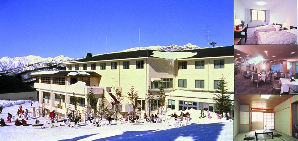 ベストロケーションなゲレンデ直結白鳥高原ホテル|スノーウェーブパーク白鳥高原