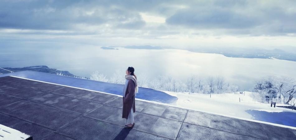 びわ湖テラス絶景を滑る!|びわ湖バレイ