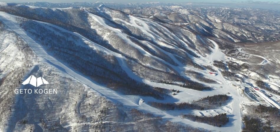 魅惑の全14コース・13ツリーランエリア 夏油高原スキー場