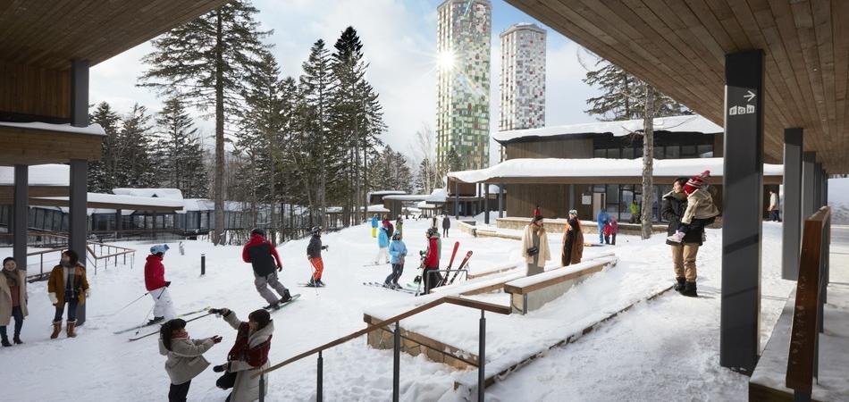 スキーインスキーアウトヴィレッジ「ホタルストリート」|星野リゾート トマム スキー場