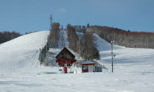 北見市留辺蘂町 八方台スキー場
