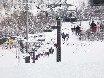 そっち岳スキー場
