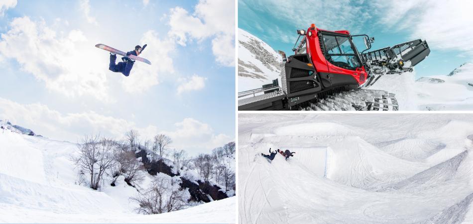 世界最新鋭コンビリフト「サンライズエクスプレス」|石打丸山スキー場