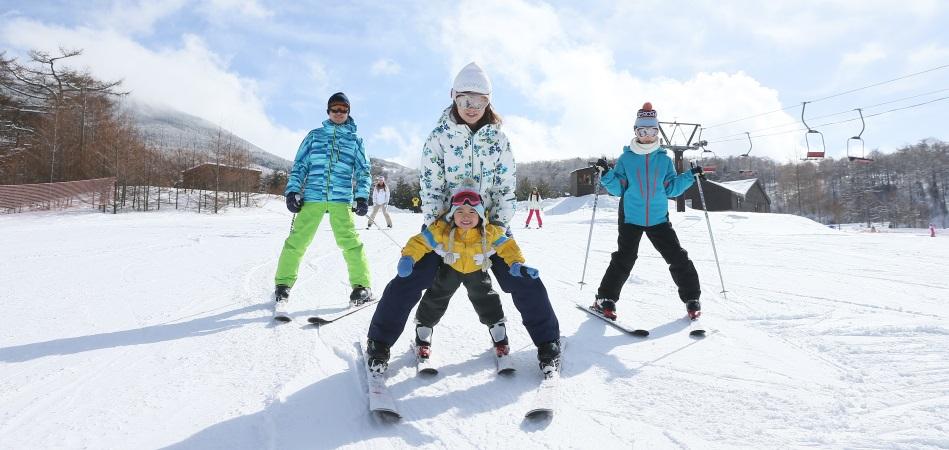子供たちや初心者のスキーデビューに最適!|アサマ2000パーク