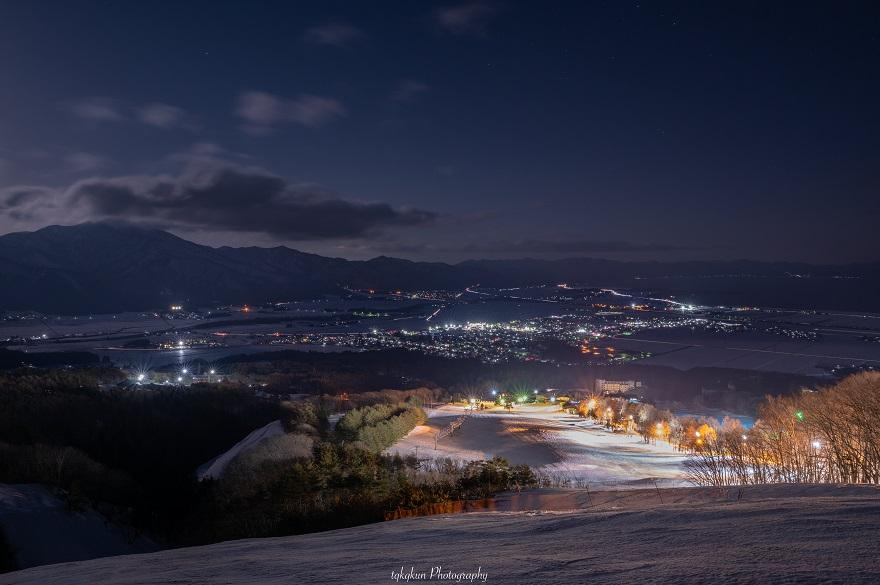 猪苗代スキー場[中央×ミネロ]