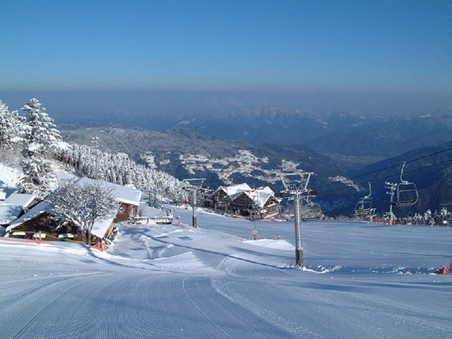 井川スキー場 腕山
