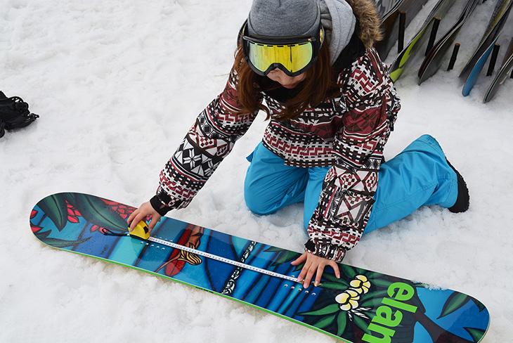 スタンス 幅 スノーボード