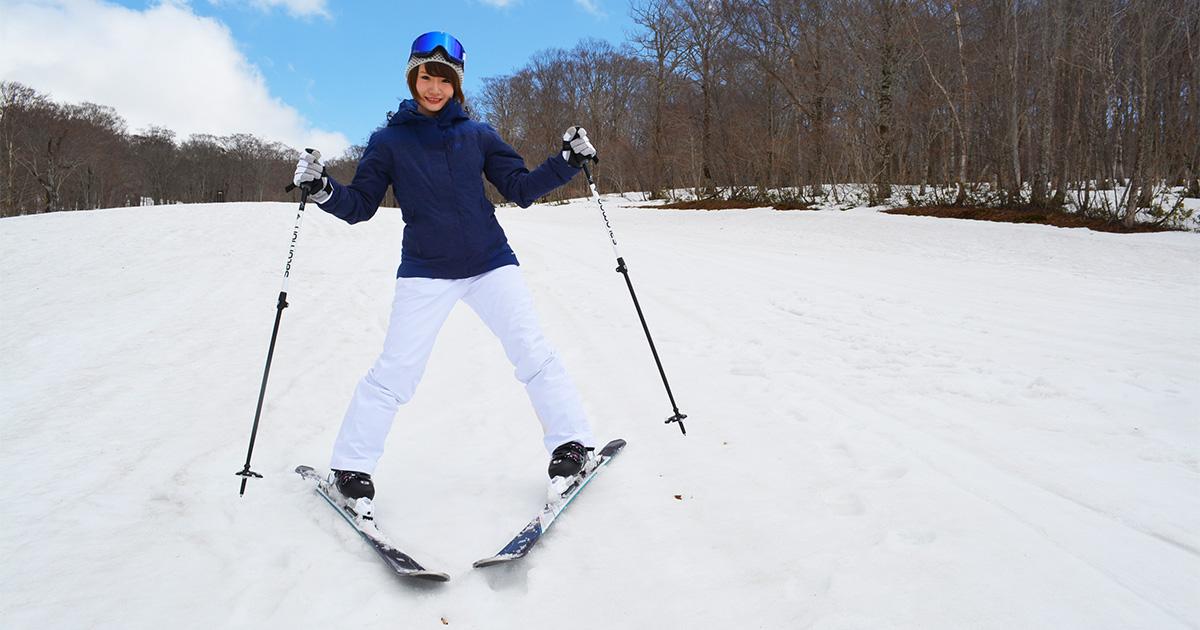 スキーのターンにチャレンジしてみよう surf snow