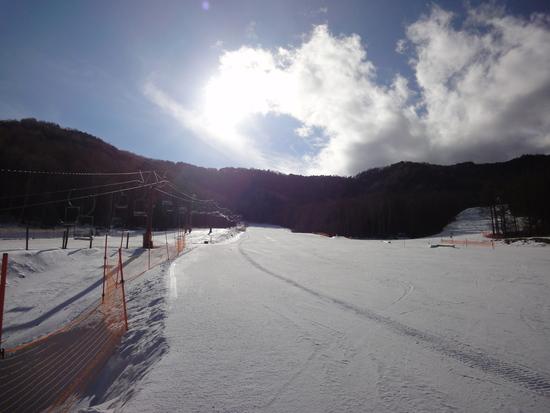 雪が少ない〜|八千穂高原スキー場のクチコミ画像2