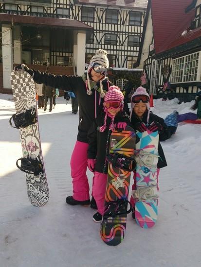 三姉妹?|上越国際スキー場のクチコミ画像