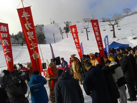 志賀高原スキー開き祭|志賀高原 熊の湯スキー場のクチコミ画像