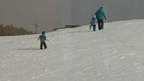 行ってらっしゃい!!|ハチ・ハチ北スキー場のクチコミ画像