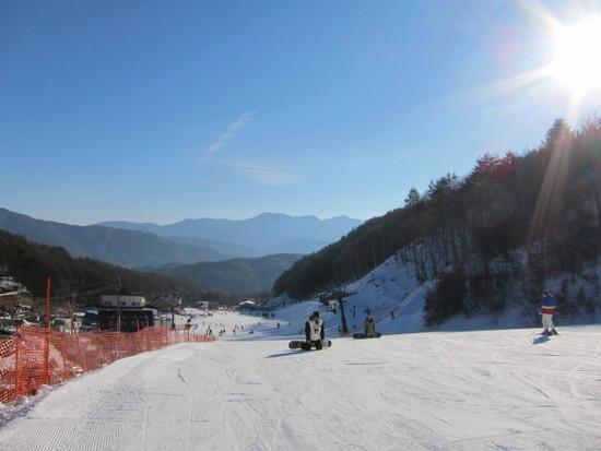 2013/01/.13(日) 長野県やぶはらスキー場の速報|やぶはら高原スキー場のクチコミ画像