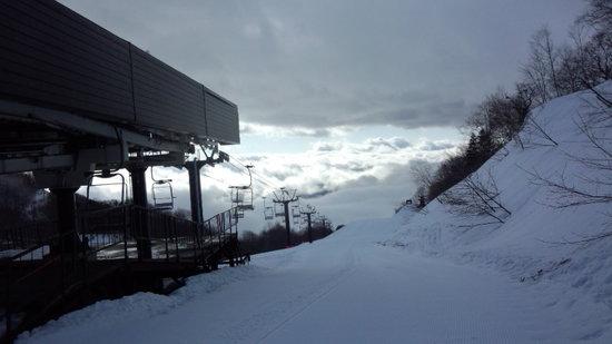 ガス&ガスの一日|栂池高原スキー場のクチコミ画像