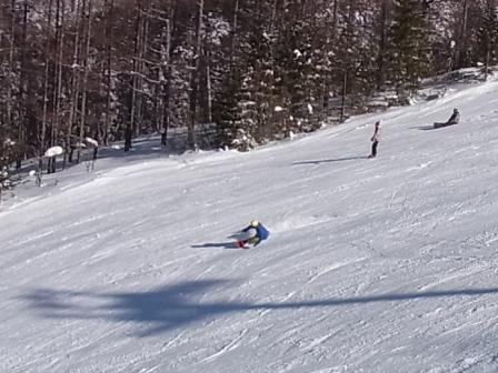 すごいカービングが撮れました|信州松本 野麦峠スキー場のクチコミ画像