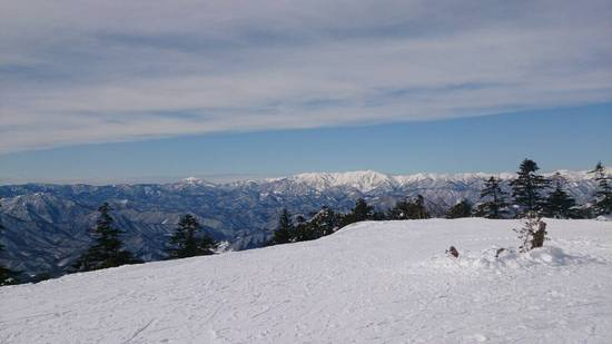 景色と雪|会津高原たかつえスキー場のクチコミ画像