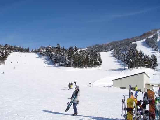 ジャム勝の最高のロケーション|スキージャム勝山のクチコミ画像2