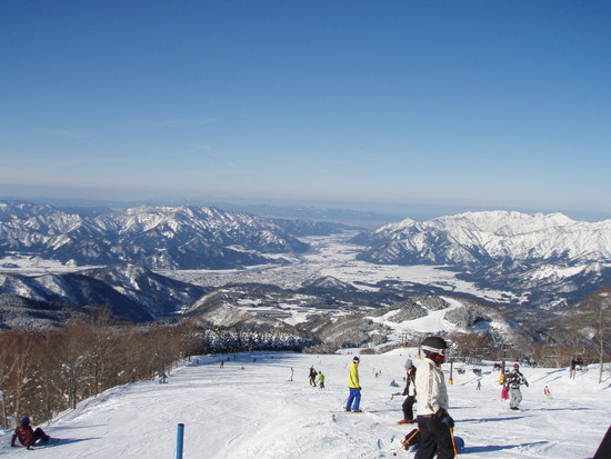 ジャム勝の最高のロケーション スキージャム勝山のクチコミ画像3