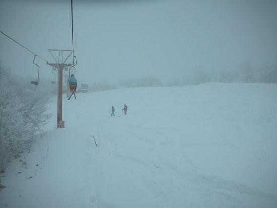 至極の1日:頂上のゲレンデが今日オープン 鹿沢スノーエリアのクチコミ画像2