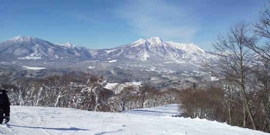 快晴。|斑尾高原スキー場のクチコミ画像