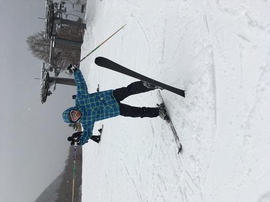 久しぶりでウキウキ|丸沼高原スキー場のクチコミ画像
