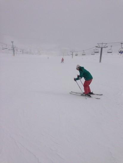 スキー初心者の妻|栂池高原スキー場のクチコミ画像