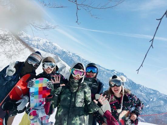 混まずにすいすい♪|栂池高原スキー場のクチコミ画像