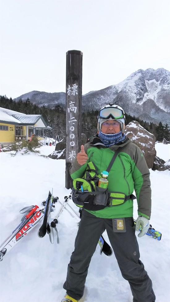 2000mのパウダーを楽しむ|丸沼高原スキー場のクチコミ画像