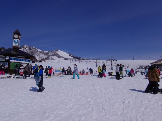 ゲレンデは広くて快適です|岩原スキー場のクチコミ画像