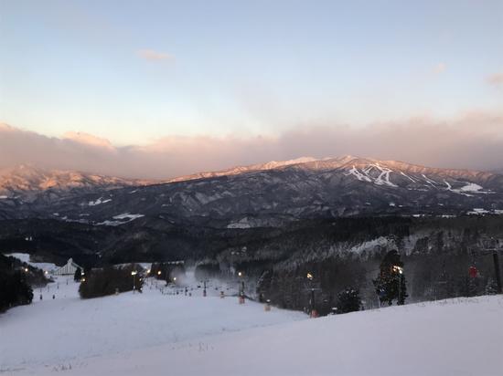 雪降ったはずなのに・・・ 鷲ヶ岳スキー場のクチコミ画像2