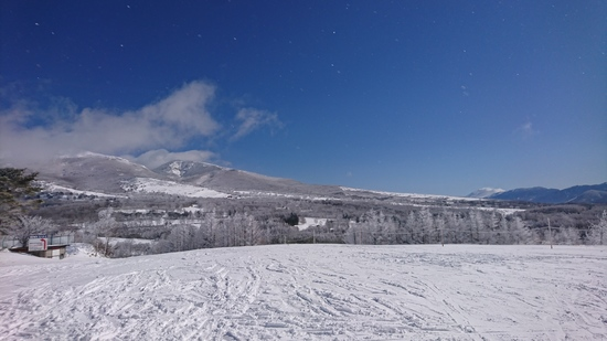 景色キレイ|菅平高原スノーリゾートのクチコミ画像
