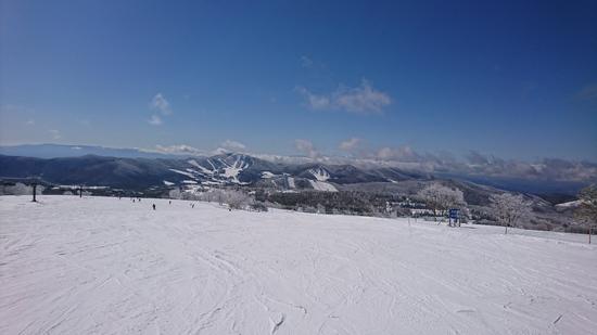 景色キレイ|菅平高原スノーリゾートのクチコミ画像2
