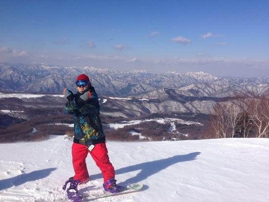 新年初滑り&シーズンIN|ハンターマウンテン塩原のクチコミ画像