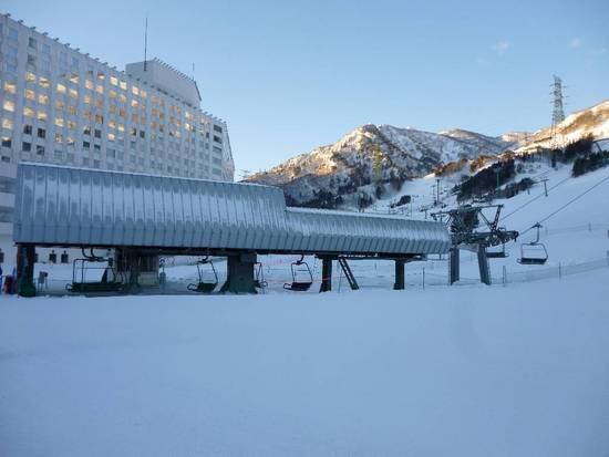 コースが広いですよね。|苗場スキー場のクチコミ画像